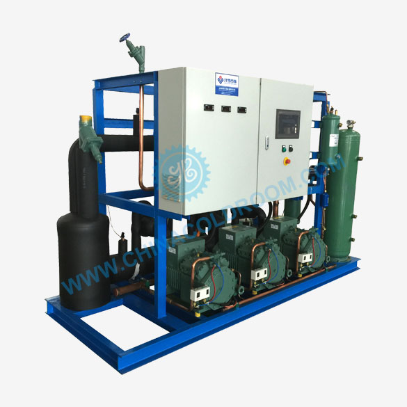 Semi-hermetic Air-cooled Compressor Rack for Low Temperature Refrigeration