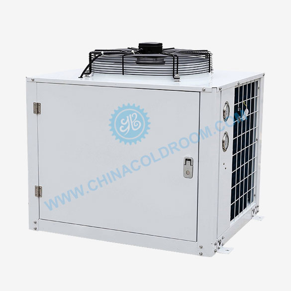 Air-Cooled GEA Bock Compressor Unit for Refrigeration