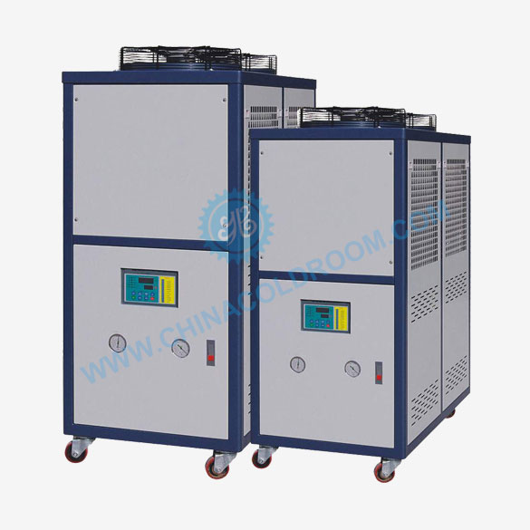 Semi-hermetic Air-cooled Industrial Chiller