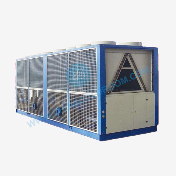 Two Stage Screw Air-cooled Industrial Chiller