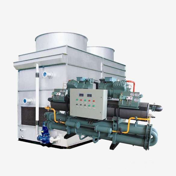 Industrial Evaporative Reciprocating Type Chiller