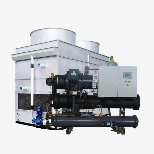 Industrial Evaporative Screw Chiller