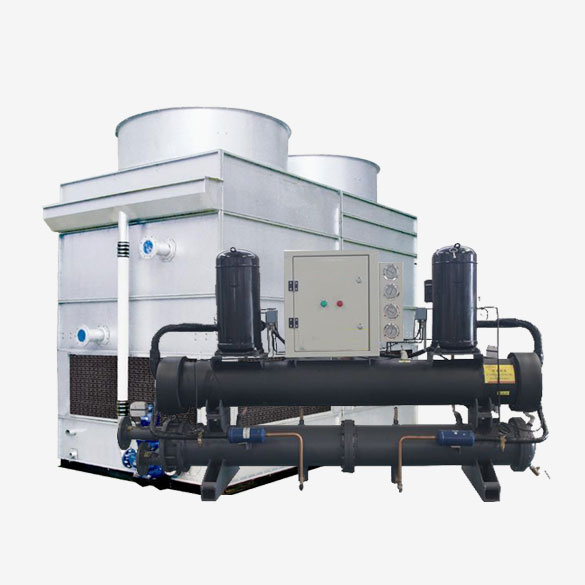 Industrial Evaporative Rotary Type Chiller