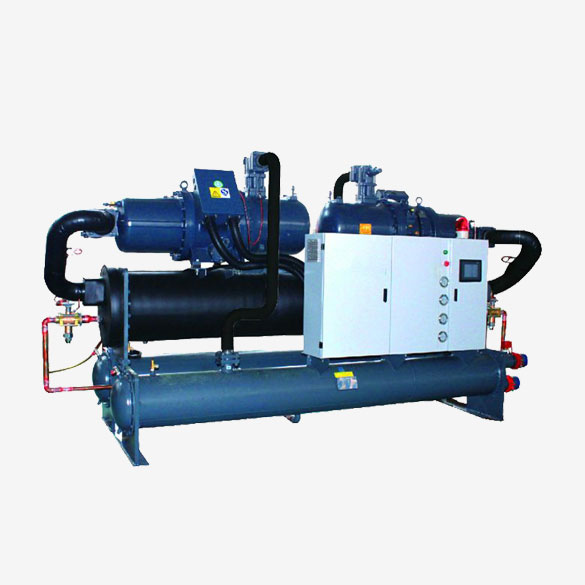 Two Stage Screw Type Industrial Water Chiller