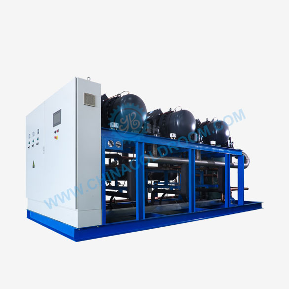 HANBELL Screw Compressors in Parallel Condensing Unit