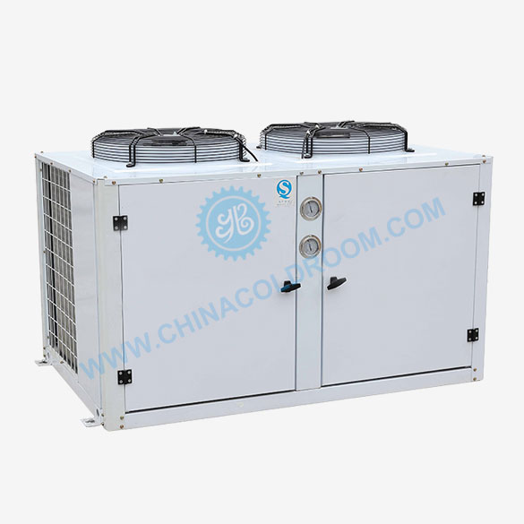 Semi-hermetic GEA Bock Air-Cooled Condensing Unit