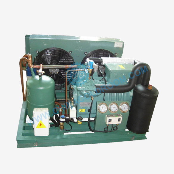 Air Cooled Two Stage Piston Condensing Unit