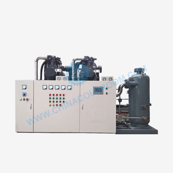 Air Cooled Two Stage Screw Condensing Unit