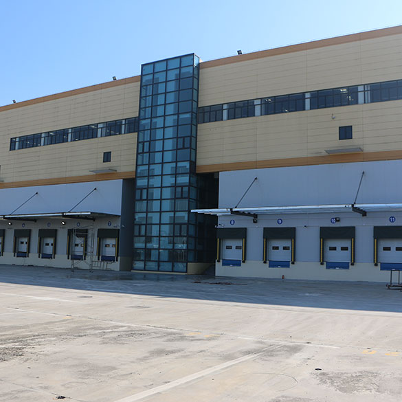 Large Seafood Processing Cold Storage Warehouse