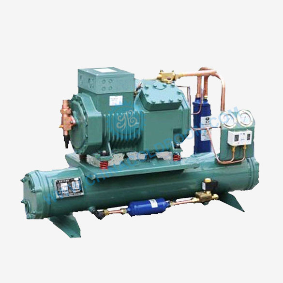 Low Temperature Water-Cooled Piston Condensing Unit