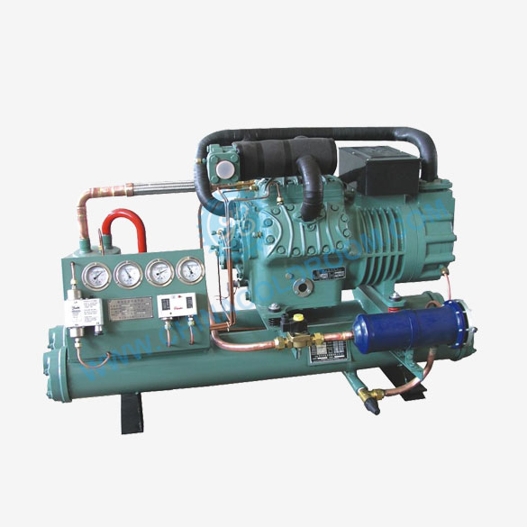 Water Cooled Two Stage Piston Condensing Unit