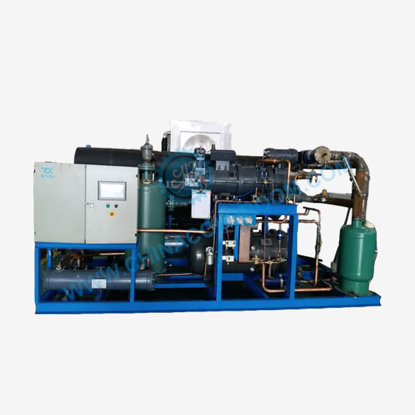 Water Cooled Two Stage Screw Condensing Unit
