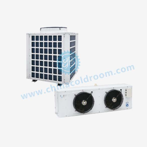 Low-Temperature Scroll Integrated Refrigeration Unit